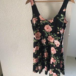 Forever 21 floral pattern dress